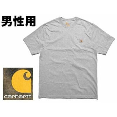 カーハート メンズ 半袖Tシャツ 米国基準サイズ ワークウェア ポケット ショートスリーブ CARHARTT 01-20250256