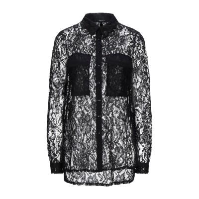 SISTE' S シャツ ブラック XS ポリエステル 100% シャツ