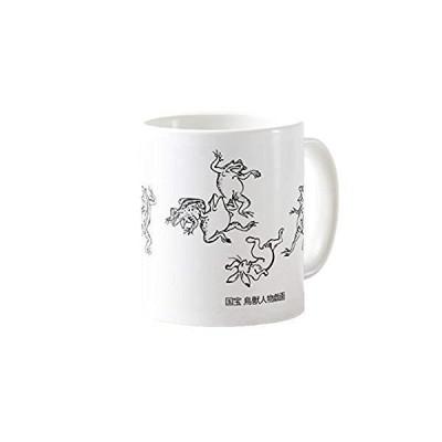 国宝・鳥獣人物戯画のマグカップ 3:フォトマグ(日本の名画シリーズ) (A)