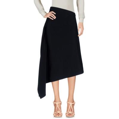 ロゼッタ・ゲッティ ROSETTA GETTY 7分丈スカート ブラック 2 レーヨン 96% / ポリウレタン 4% 7分丈スカート