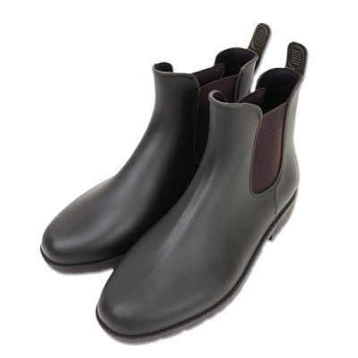 (and it_/アンドイット)サイドゴアブーツ/ショートブーツ サイドゴアショートレインブーツ【M】【L】(レディース おしゃれ 靴 レインシューズ 雨の日 雨 ショート 撥水 レインブーツ/レディース カーキ