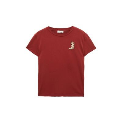 SANDRO T シャツ レンガ 3 コットン 100% / ナイロン T シャツ