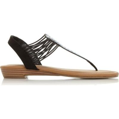 ロベルトビアンニ Roberto Vianni レディース サンダル・ミュール シューズ・靴 lancii strappy tbar sandals Black