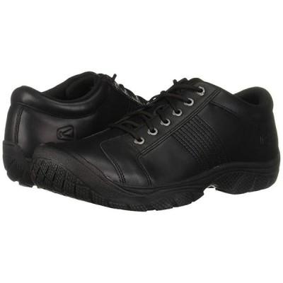 Keen Utility PTC Oxford メンズ スニーカー 靴 シューズ Black