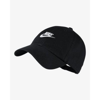 (ナイキ)nike スポーツウェア ヘリテージ86 フューチュラ ウォッシュド 衣料小物 キャップ 913011-010 BLK