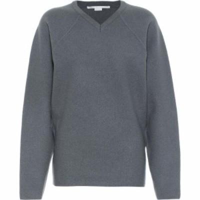 ステラ マッカートニー Stella McCartney レディース ニット・セーター トップス Virgin Wool Sweater Light Grey Melange