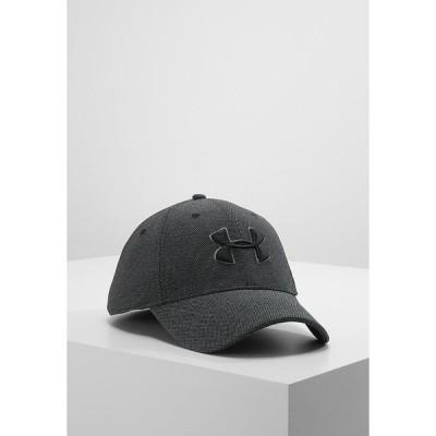 アンダーアーマー 帽子 メンズ アクセサリー Cap - black