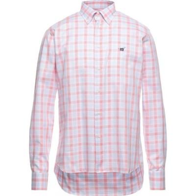 ヘンリーコットンズ HENRY COTTON'S メンズ シャツ トップス Checked Shirt Sky blue