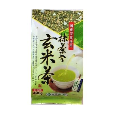 土倉抹茶入玄米茶 400g×6個