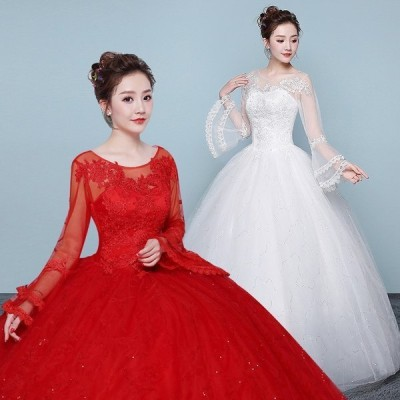 /プリンセスラインドレス/結婚式/二次会/ホワイト/花嫁/ウェディング/エンパイア/披露宴