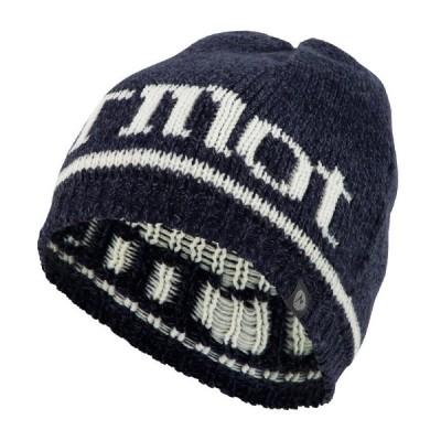 帽子・防寒・エプロン マーモット BASIC LOGO KNIT CAP(ベーシック ロゴ ニット キャップ) フリー NV(ネイビー系)