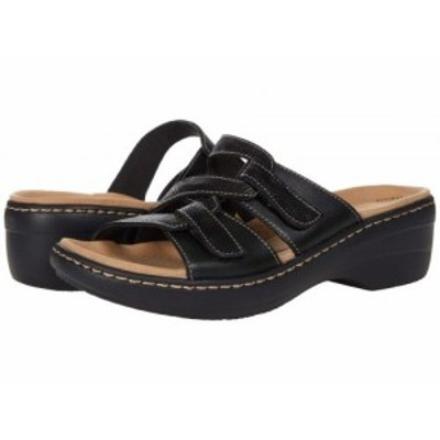Clarks クラークス レディース 女性用 シューズ 靴 ヒール Merliah Karli Black Leather【送料無料】