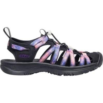 キーン レディース サンダル シューズ Whisper Sandal Black/Purple