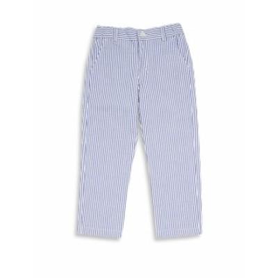オスカーデラレンタ キッズ ボーイズ パンツ Little Boys &amp Boys Seersucker Slim Cotton Pants