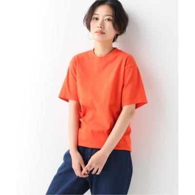 【ジャーナルスタンダード】  6.5oz Garment Dye C/N T:Tシャツ◆ レディース オレンジ XL JOURNAL STANDARD