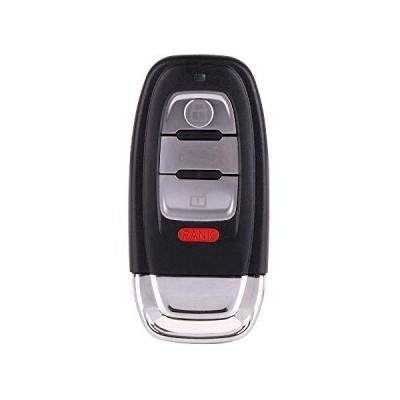 SCITOO 交換用 1X 4ボタン アンカット キーレス エントリー オプション IYZFBSB802 (アウディシリーズ)