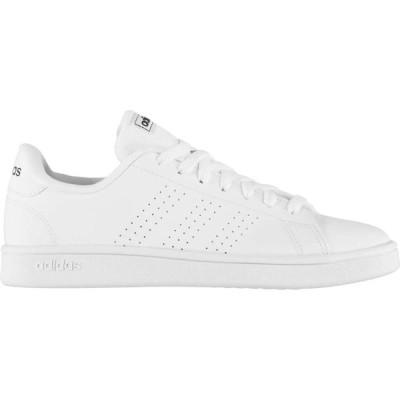 アディダス adidas メンズ スニーカー シューズ・靴 advantage base trainers White/Navy