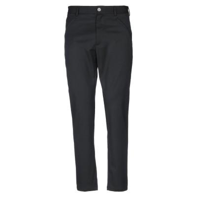ジャストカヴァリ JUST CAVALLI パンツ ブラック 44 ポリエステル 54% / ウール 44% / ポリウレタン 2% パンツ