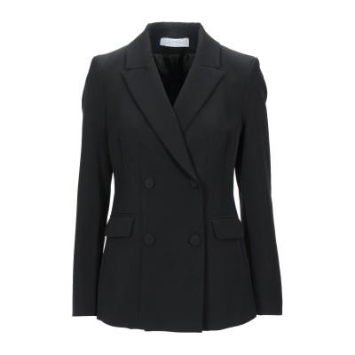 カオス KAOS テーラードジャケット ブラック 42 ポリエステル 88% / ポリウレタン 12% テーラードジャケット