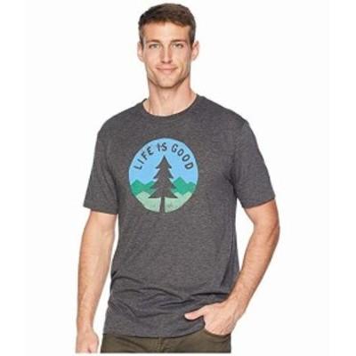 ライフ イズ グッド メンズ シャツ トップス Simple Pine Cool T-Shirt