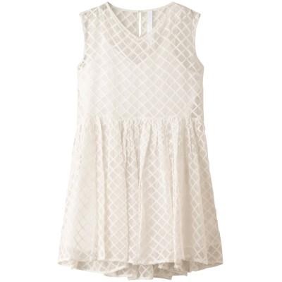 Merlette マーレット DAWSONギンガム刺繍ドレス レディース ホワイト S