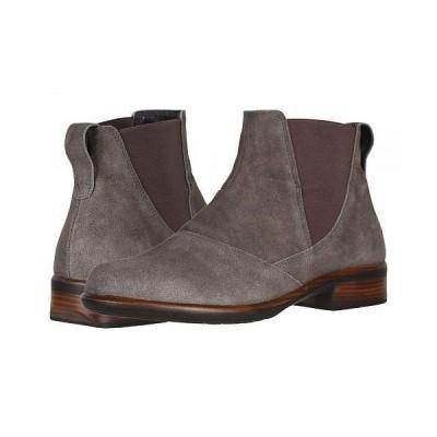 Naot ナオト レディース 女性用 シューズ 靴 ブーツ チェルシーブーツ アンクル Ruzgar - Taupe Gray Suede