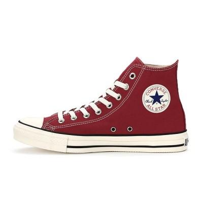 コンバース メンズ シューズ スニーカー 靴 オールスター ウォッシュド キャンバス ハイカット レッド CONVERSE ALL STAR WASHED CANVAS HI RED
