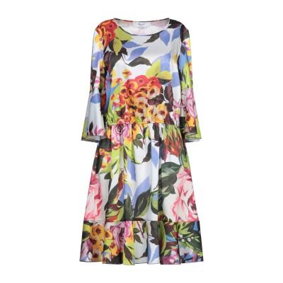 ブルーガール ブルマリン BLUGIRL BLUMARINE ミニワンピース&ドレス イエロー 42 ポリエステル 100% ミニワンピース&ドレス