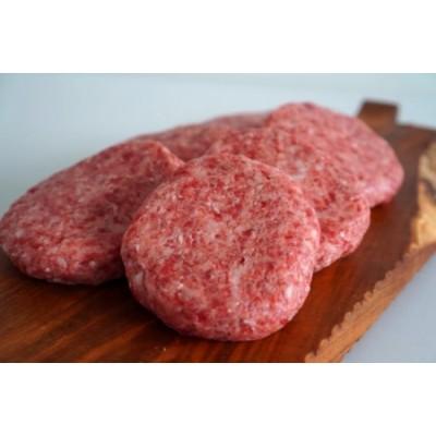 【B-50】(佐賀県産しろいし牛)ボリュームたっぷり手ごねハンバーグ 5個