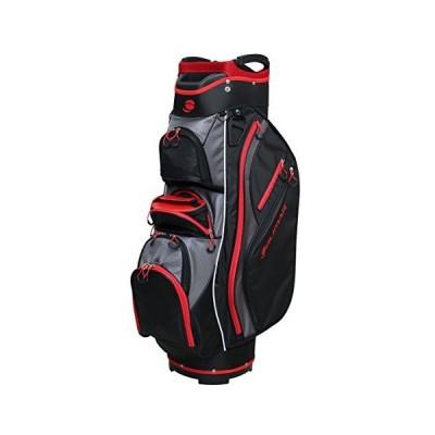 Orlimar Golf CRX クーラーカートバッグ ブラック/レッド/チャコール ワンサイズ【並行輸入品】