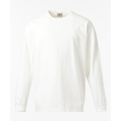 天竺刺繍 ロングTシャツ