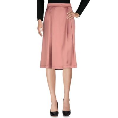 TWINSET UNDERWEAR 7分丈スカート レンガ S 96% ポリエステル 4% ポリウレタン 7分丈スカート