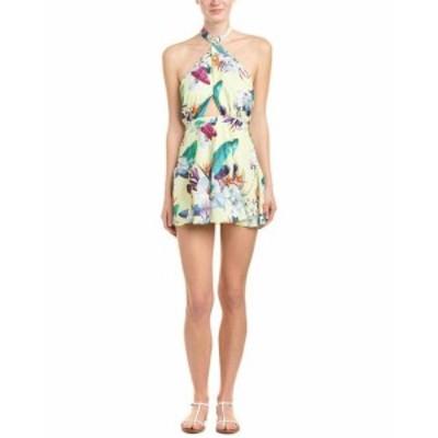 ocean オーシャン ファッション ドレス 6 Shore Road Ocean Mini Dress Xs Yellow