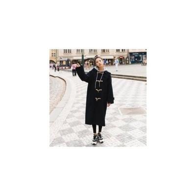 【セール】韓国ファッション ロングコートチェスターコート SI レディース トレンチコート  ロング アウター 防寒 ファッション 大きいサイズ