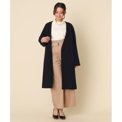 Couture Brooch(クチュールブローチ) メルトンVノーカラーコート