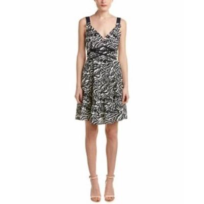 Nanette Lepore ナネットレポー ファッション ドレス Nanette Lepore Crisscross Silk A-Line Dress