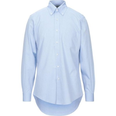 ブルックス ブラザーズ BROOKS BROTHERS メンズ シャツ トップス solid color shirt Blue