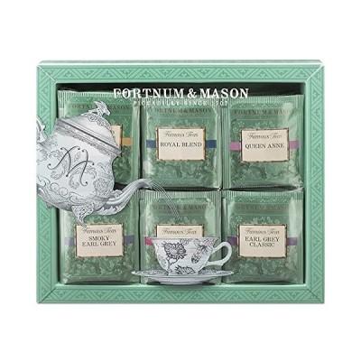 フォートナム&メイソン Famous Teas ティーバッグ ギフト セット 60個入り [並行輸入品]
