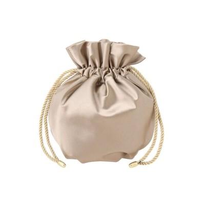 LAGUNAMOON / LADY巾着サテンBAG WOMEN バッグ > ハンドバッグ