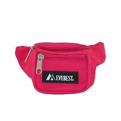 Everest Girls' Fabric Waist Pack Purse, Hot Pink【並行輸入品】