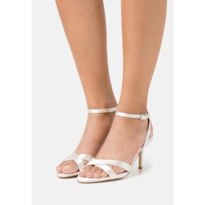 デューンロンドン レディース 靴 シューズ MIRRA - Sandals - ivory