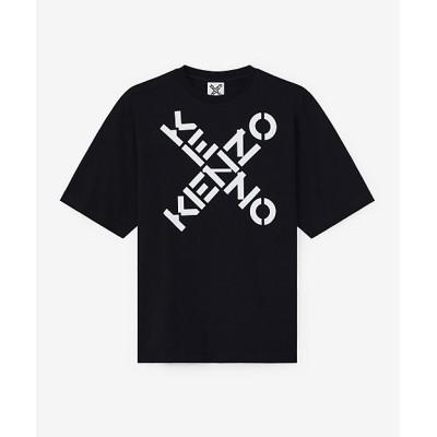 <KENZO (Men)/ケンゾー> Tシャツ オーバーサイズ Kenzo Sport Big X Oversized Tee FA65TS5024SJ 99クロ【三越伊勢丹/公式】