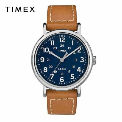TIMEX タイメックス メンズ 腕時計 ウィークエンダー Weekender 40mm|タン / ブルー TW2R42500 海外モデル|当店1年保証