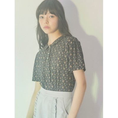 tシャツ Tシャツ floralポロシャツ