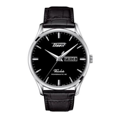 ティソ ヘリテージ ヴィソデイト メンズ T1184301605100 自動巻 パワーマティック80 メンズ腕時計 TISSOT 正規品