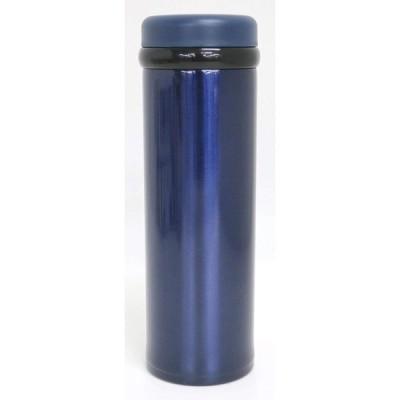 オーエスケー 水筒 ディライト ステンレスボトル ネイビー 350ml SB-350B