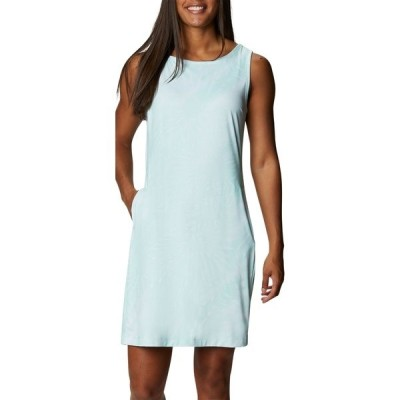 コロンビア ワンピース トップス レディース Columbia Women's Chill River Printed Dress MintCay/SunburstPrint