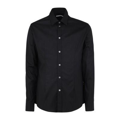 ダニエル アレッサンドリーニ DANIELE ALESSANDRINI シャツ ブラック 41 コットン 97% / ポリウレタン 3% シャツ