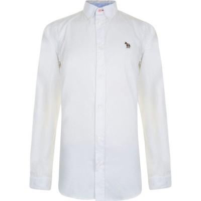 ポールスミス PS PAUL SMITH メンズ シャツ トップス Long Sleeve Button Down Shirt White