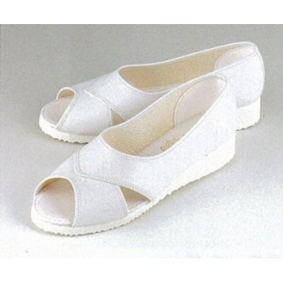 M6 合成レザーサンダル (白 ホワイト ナースサンダル ナースシューズ サンダル マリアンヌ mariannu レザー ナース靴 通販